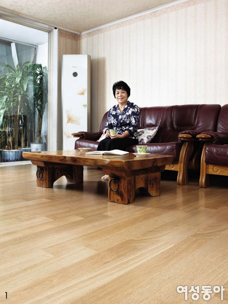 20년 넘은 집을 새집으로 변신시킨 친환경 바닥재
