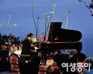피아니스트 백건우 섬마을 콘서트에 가다