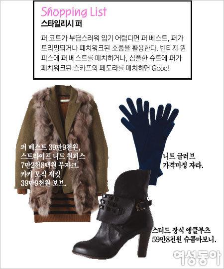 패션 스타일리스트 쇼핑백 엿보기