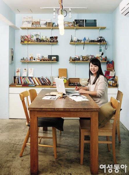 주부 작가의 作業室