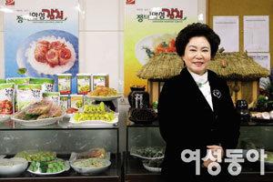 김치 종주국의 자존심 김순자 명인의 손맛