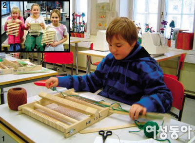 여자는 목공, 남자는 바느질 배우는 핀란드의 양성평등교육