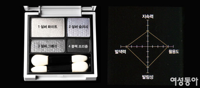 디올 5 꿀뢰르 디자이너 VS 라네즈 멀티 프로페셔널 섀도