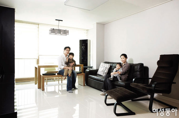 4인 가족 사는 66㎡ 집 매직 인테리어