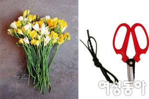세상에서 가장 쉬운 꽃다발 만들기