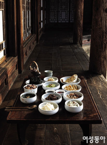觀善亭의 대보름 요리