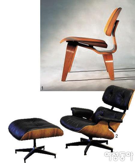 찰스 & 레이 임스 부부의 Lounge Chair Wood