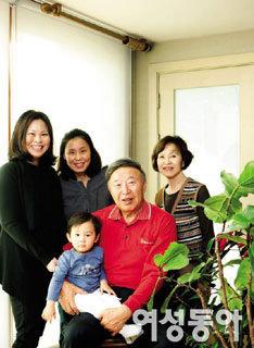 김응룡 감독 가족을 만나다