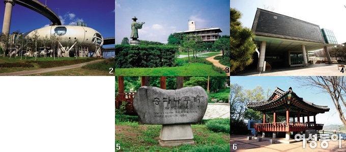 한강 역사 여행 10대 코스