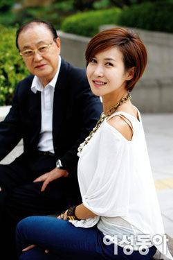 발레리나 윤혜진 & 원로배우 윤일봉 부녀