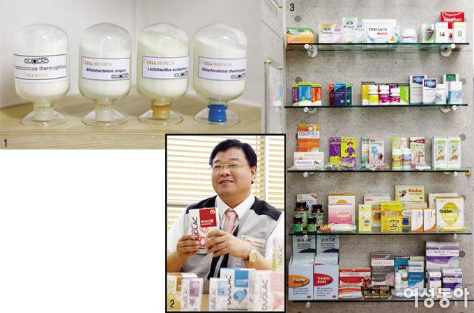 유산균 만드는 장인, 쎌바이오텍 정명준 대표