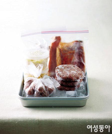 시간  재료 절약하는 비장의 냉동 요리