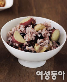 햅쌀로 지은 영양밥
