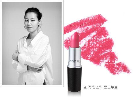 """유명 메이크업 아티스트 3인의 조언! """"하얀 피부가 돋보이는 핑크 립스틱은?"""