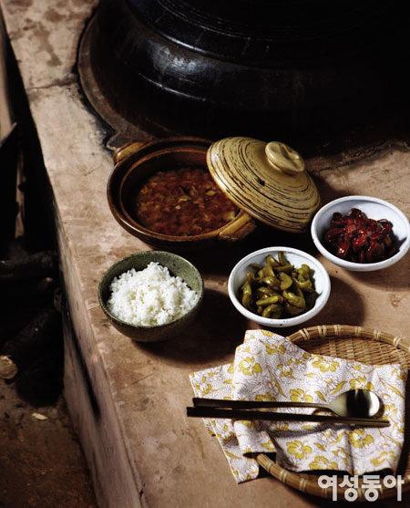 광양 매실 마을 홍쌍리의 시골 밥상