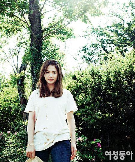 서른 살 송혜교 여배우의 삶에 대하여
