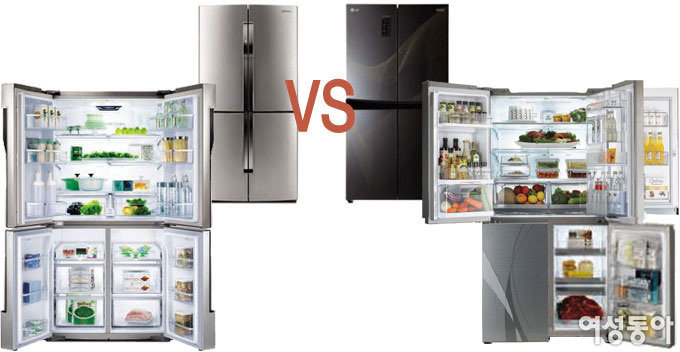 승기 냉장고 VS 태희 냉장고