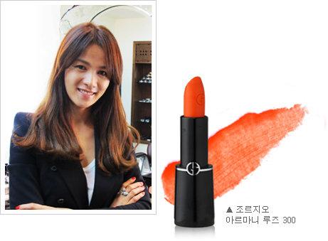 """유명 메이크업 아티스트 3인의 조언! """"하얀 피부와 어울리는 오렌지 립스틱은?"""