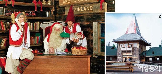 핀란드에서 띄우는 '미리 크리스마스~'