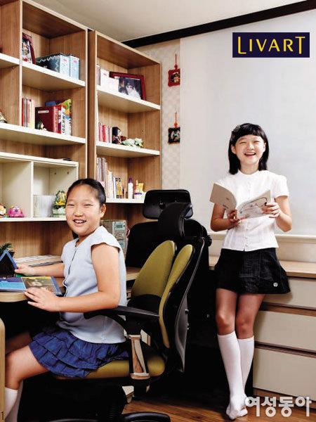 꿈 많은 자매가 함께 쓰는 트윈 공부방
