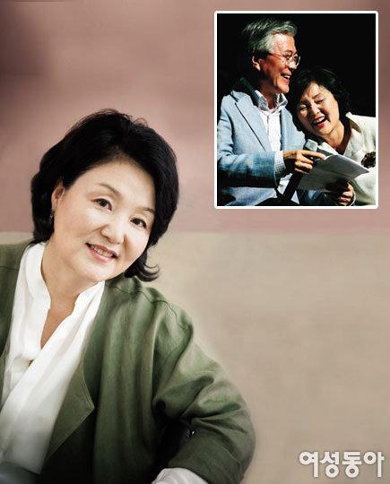 '세상과 바람난' 문재인 후보 아내 김정숙