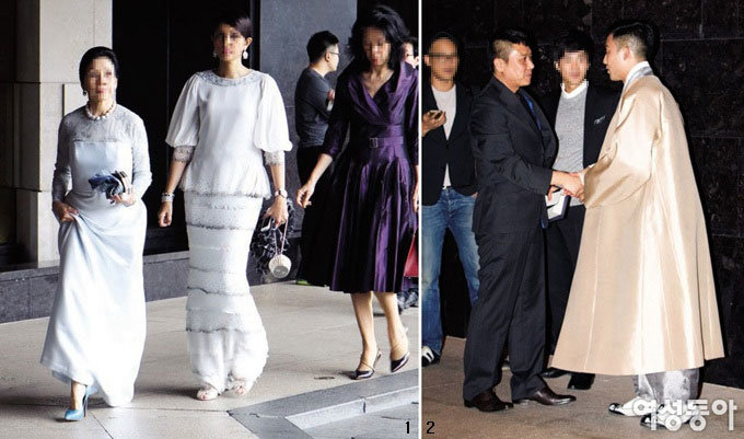 새댁 전지현 싱가포르 재벌가 외동딸과 동서지간 되던 날