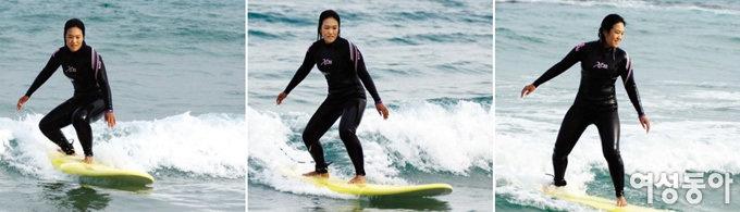 """""""나이 듦에 대한 두려움 서핑으로 극복했죠"""""""