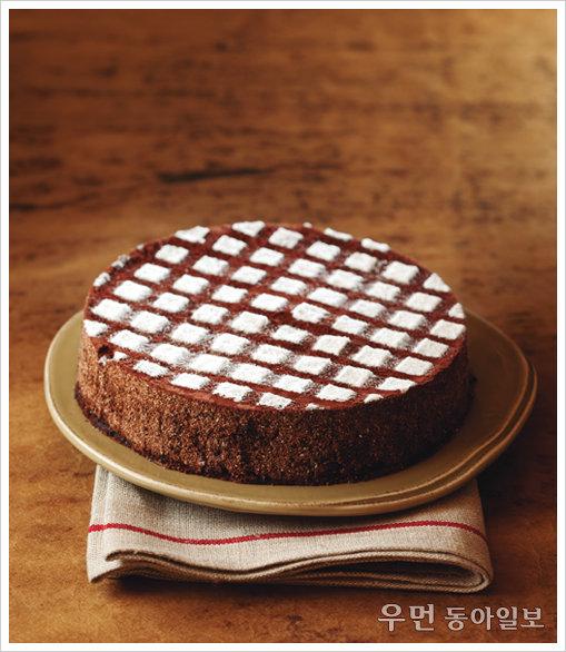 초콜릿의 진한 사랑을 담아 초콜릿떡케이크