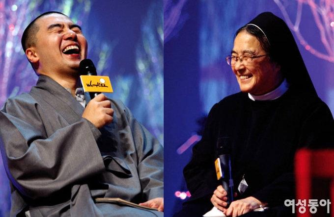 혜민 스님과 이해인 수녀의 따뜻한 새해 선물