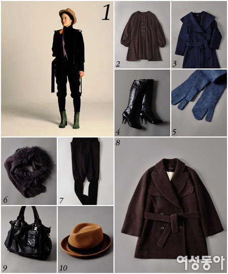 패션 피플의 올겨울 에센셜 아이템