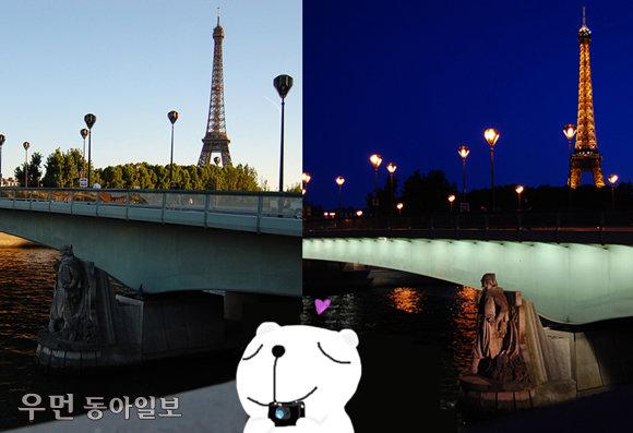 """'이웃집블로거 빌시' 이진형의 소소한 유럽 이야기 """"파리의 가장 낭만적인 순간…노을 지는 센 강변과 에펠탑 점멸식"""""""