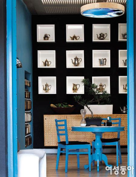 디자이너 아드리안 롬바르드의 요하네스버그 집