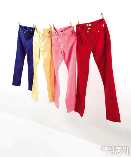 Vivid Color Pants