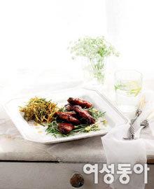 봄맞이 특별식, 봄나물+α