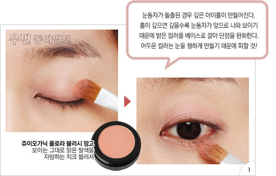메이크업 아티스트 이용선의 교정 메이크업 레슨 ① 돌출형 눈매를 위한 소프트 아이즈 연출법!