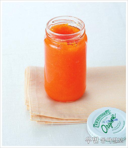 달콤 한 스푼, 상큼 한 스푼 '당근과 오렌지 잼'