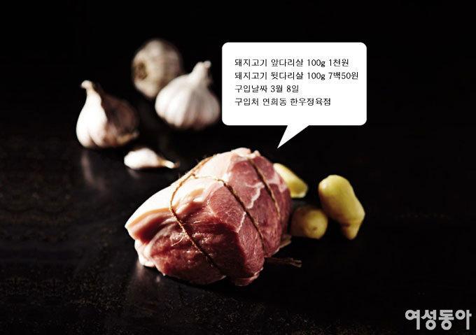 돼지고기 앞다리살&뒷다리살 요리
