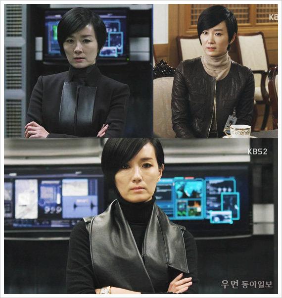 KBS2 드라마'아이리스2 오연수의 모던 시크 룩!
