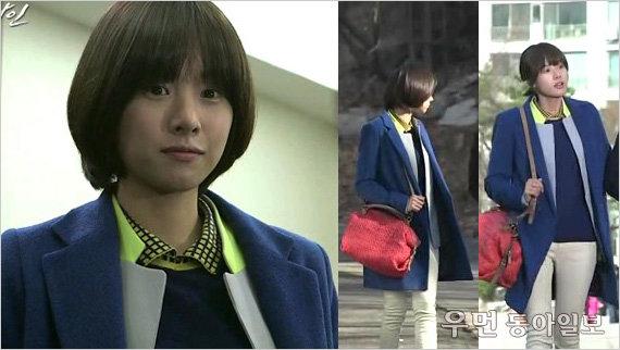 tvN 드라마 '나인' 조윤희의 과감한 컬러 매치! ②