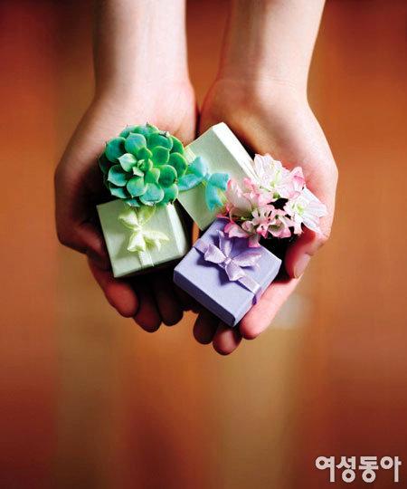 주는 마음 받는 마음 행복해지는 선물
