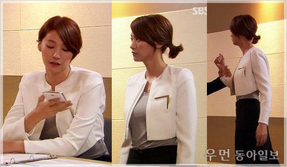 SBS '원더풀 마마' 유인영의 커리어우먼 룩!