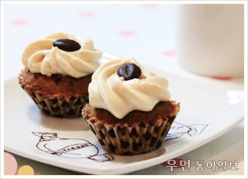 커피와 컵케잌의 만남, '모카 컵케이크'