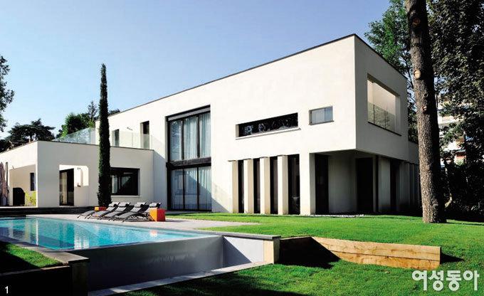 프랑스 리옹의 갤러리 하우스