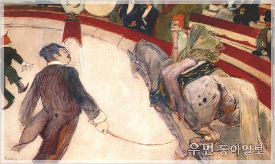세상의 모든 아웃사이더들에게 희망을, 로트렉의 '페르난도 서커스의 곡마사'…이지현의 아주 쉬운 예술이야기