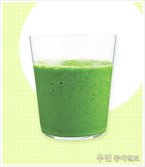 야채 주스는 맛없다는 편견을 버려라, '양배추+샐러드시금치+자몽' 주스