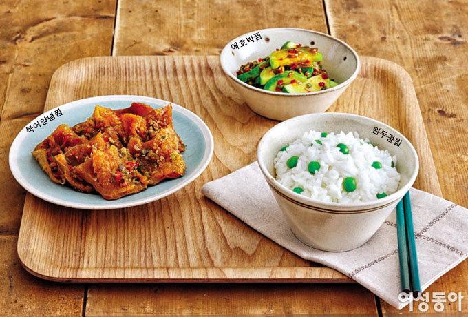 전기밥통 1×3 요리