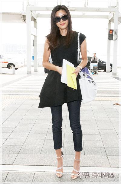 전지현, 그녀의 아름다운 스타일 행보