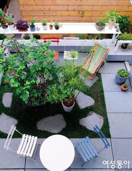 옥상에 만든 발칙한 공간