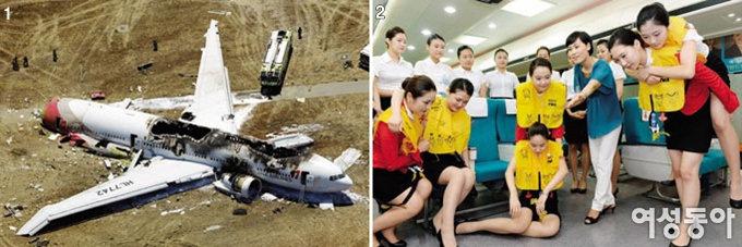 항공사고 시 생존율 높이려면…