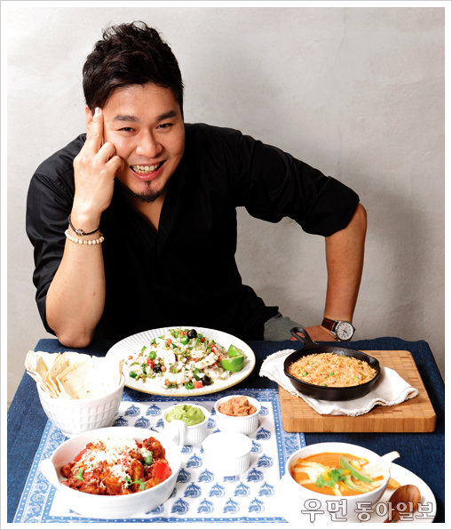 신혼여행의 추억 담긴 메뉴 스타 셰프 레이먼 킴의 멕시코 요리